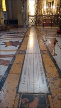 Image for Meridian in the Cathedral in Acireale, Sicily, Italy