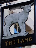 Image for The Lamb - Pub Sign - Newport, Gwent, Wales.