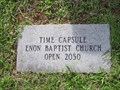 Image for Enon Baptist Church Time Capsule