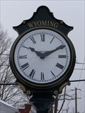Image for Wyoming Town Clock - Wyoming, New York