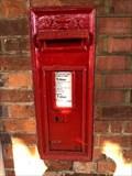 Image for Victorian Wall Post Box - Bentley Station near Farnham - Surrey - UK