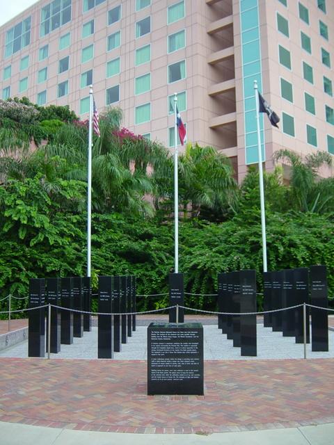 Galveston County Vietnam Memorial, Moody Gardens, Galveston, TX, USA ...