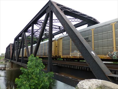 Lord Abercrombie visited Monroe CN Railroad Bridge