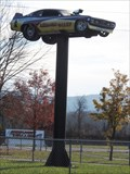 Image for Funny Car on a Pole - West Lebanon, NY