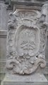 Image for Coat of Arms of Moravia on Marian Plaque Column - Pardubice - Czech Republic