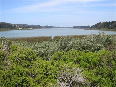 Lake Merced and Shoreline, San Francisco, CA