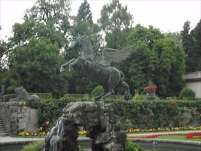 Mirabell Gardens Pegasus Fountain - Salzburg