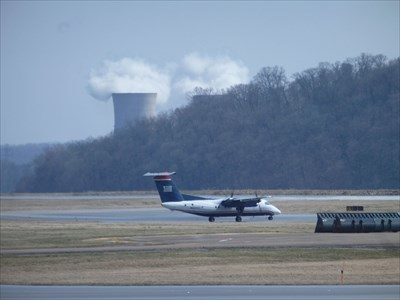 This picture was taken from the Harrisburg International Airport as I was flying to Florida.