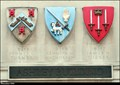 Image for CoAs of three Middle Temple Treasurers on Ashley Building - Middle Temple (London)