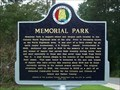 Image for Memorial Park - Jasper, Al