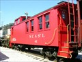 Image for N.C. & St. L #41 Caboose ~ Chattanooga Tennessee