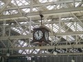 Image for Railway station clock, Central Station, Glasgow UK