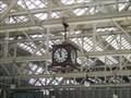 Image for Railway station clock, Central Station, Glasgow UK