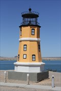 Image for 1/3 size Split Rock MN Lighthouse -- Lake Havasu City AZ