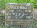 Image for Darden Qualls - Masonic Cemetery - Gonzales, Texas