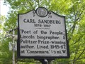 Image for Carl Sandburg 1878-1967 (P-75)