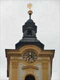 Image for Town Hall Clock - Pisek, Czech Republic