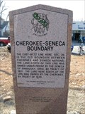 Image for Cherokee - Seneca Boundary OK