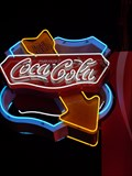 Image for Coca-Cola Neon - Route 66, Williams, Arizona, USA.