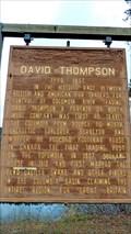 Image for David Thompson - Ione, WA