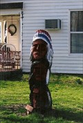 Image for Yard Indian Statue - Macon, MO