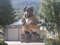Image for L'ours rugbyman. St Lary. France