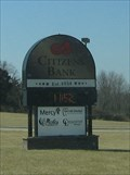 Image for Citizen's Bank Sign - Gerald, MO