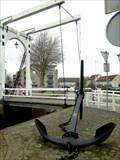Image for Old anchor in the city harbor (larboard) Goes - Zeeland - Nederland