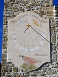 Image for Peyrot Sundial on Church in Ribeyret, Hautes Alpes, France
