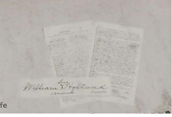 War Department document of Holland joining the Army