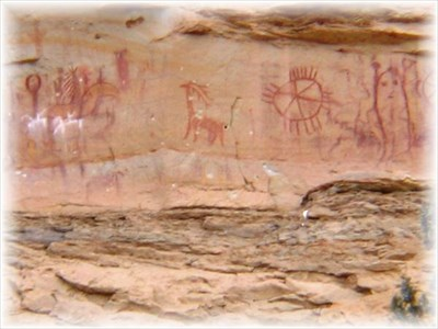 Book Cliffs Rock Art Panel