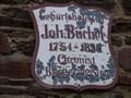 Image for Johann Büchel - Münstermaifeld, RP, Germany