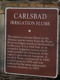 Image for Carlsbad Irrigation Flume, Carlsbad, NM