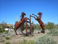 Image for Fighting Horses - Apache Junction Arizona