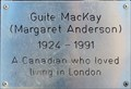 Image for Guite MacKay (Margaret Anderson) - Tavistock Square, London, UK