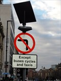 Image for Solar Powered road sign – Leeds, UK