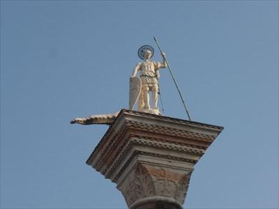 Column of Saint Theodore - Venezia, Italy