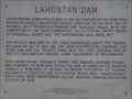 Image for Lahontan Dam