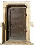 Image for Dvere kostela sv. Petra a Pavla / Door of the Church of St. Peter and Paul, CZ