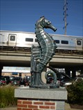 Image for Seahorse Statue - Triangle Park - Wantagh, NY