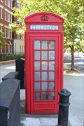 Image for Red Telephone Box - Park Road, London, UK