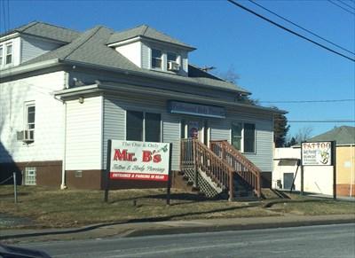 Mr. B - Baltimore, MD - Tattoo Shops/Parlors on Waymarking.com