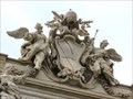 Image for Papal Coat of Arms - Trevi Fountain - Roma, Italy
