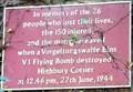 Image for V1 Flying Bomb - Highbury Corner, London, UK