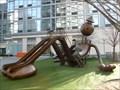 Image for Giant Cartoon Man Playground Slide - New York, NY