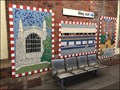 Image for Mural, Gloucester Railway Station, Gloucester, Gloucestershire, UK.