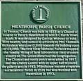 Image for St Thomas' Church, Milnthorpe, Cumbria, UK