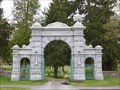 Image for Brookfield Cemetery Entrance Arch - Brookfield, MA