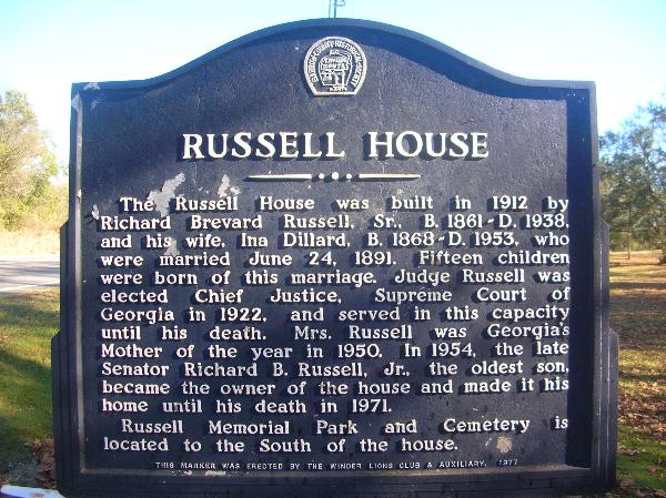 Russell House Barrow County