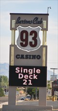 Image for Barton's Club 93 Casino ~ Jackpot, Nevada